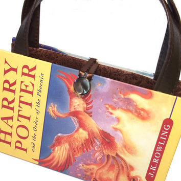 Harry Potter Book Purse Order of Phoenix Book by retrograndma