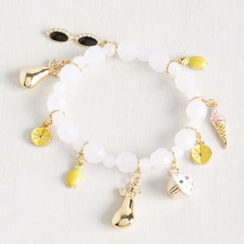 Armed With Charm Bracelet