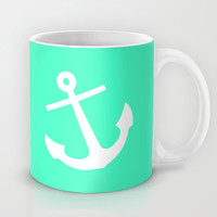 Mint Anchor Mug by M Studio