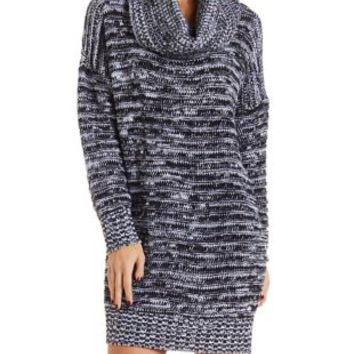Cowl Neck Sweater Dress by Charlotte Russe