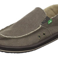 Sanuk Vagabond Brown Slip-On Loafers