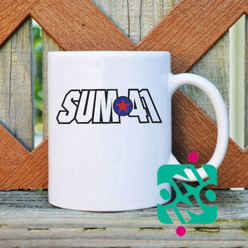 Sum 41 Logo Coffee Mug, Ceramic Mug, Unique Coffee Mug Gift Coffee