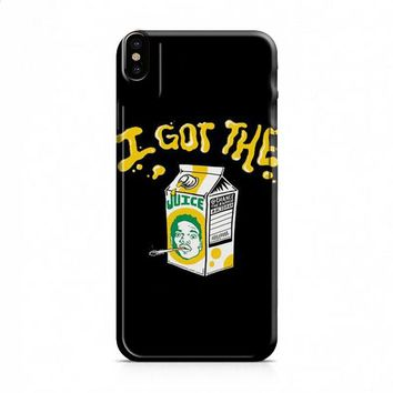 Acid Rap Juice iPhone X case