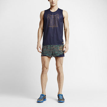 The NikeLab Gyakusou Dri-FIT Racer Unisex (Men's Sizing) Running Singlet.