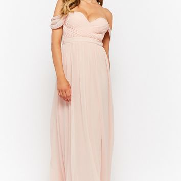 Off-the-Shoulder Sweetheart Gown