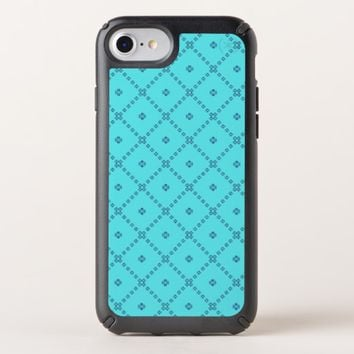 Decorative Blue Design Speck iPhone Case
