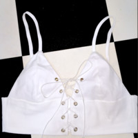 SWEET LORD O'MIGHTY! THE XTINA BRALET IN WHITE