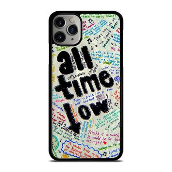 ALL TIME LOW COLOUR iPhone Case Cover