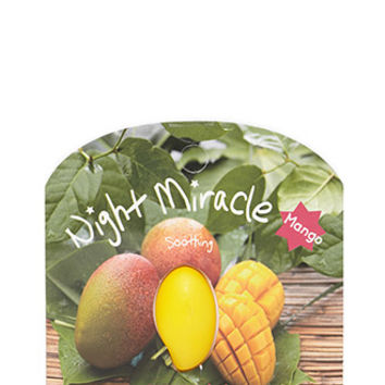 Night Miracle Mango Sleep Mask