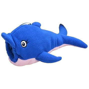 ABWE Best Sale Baby Animal Holder Storage Bag Pouch Cover for Milk Bottle(Blue Dolphin)