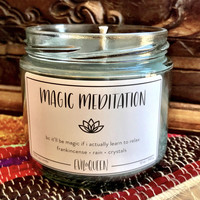 Magic Meditation Candle