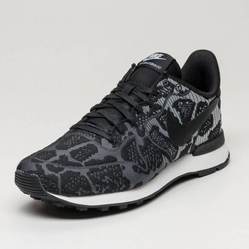 Nike Wmns Internationalist Jacquard (Dark Grey / Black - Pure Platinum - Summit White)