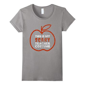 This is My Scary Teacher Costume T-Shirt Halloween Gift
