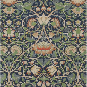 Surya William Morris Arts and Crafts Blue WLM-3011 Area Rug