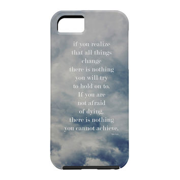 Leah Flores Lao Tzu Cell Phone Case