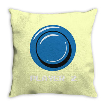 player 2 Throw Pillow