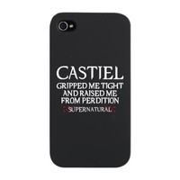 Castiel Supernatural iPhone Snap Case