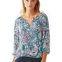 Lilly Pulitzer Sarabeth Silk Top