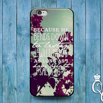 Cute Psalm Bible Verse Quote Case God Word Cover iPod iPhone 4 4s 5 5s 5c 6 Plus