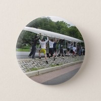 Carrying the Boat Photo Pinback Button