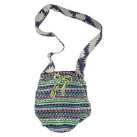Women's MUK LUKS Crossbody Bucket Handbag - Lime