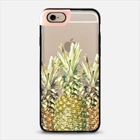 Pineapple Paradise Metaluxe iPhone 6 case by Lisa Argyropoulos | Casetify