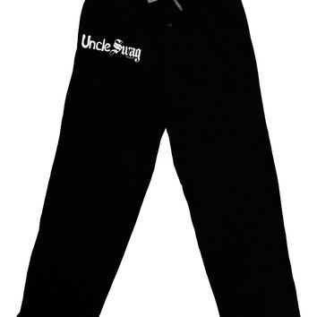 Uncle Swag Text Adult Lounge Pants by TooLoud