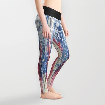Amerikka Distress Leggings by HappyMelvin