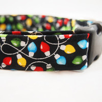 Christmas Dog Collar Twinkle