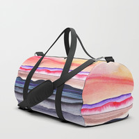 Abstract nature 07 Duffle Bag by Marco Gonzalez