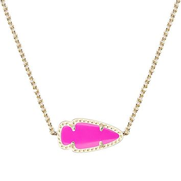 Skylie Pendant Necklace in Magenta - Kendra Scott Jewelry