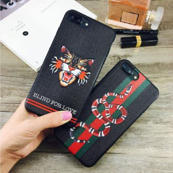 BLIND FOR LOVE print phone shell phone case for Iphone 6/6s/6p/7p/7/8/8p/X