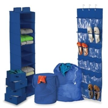 Ultra Closet Complete Set - Blue Cool Items For College Students Keep Dorm Closet Clean