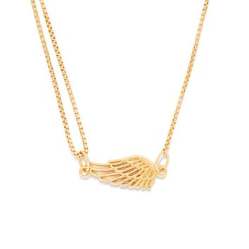 Wing Pull Chain Necklace
