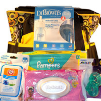 New Mom Diaper Bag Gift Set