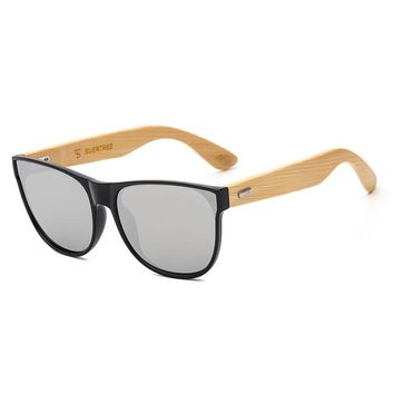 Poly Carbonate Bamboo Sunglasses