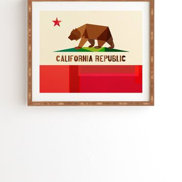 Fimbis California Framed Wall Art