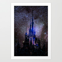 Fantasy Disney Art Print by Guido Montañés