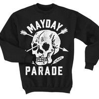 Skull/Arrows Black : FEAR : Mayday Parade