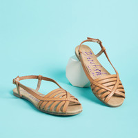 At Your Leisure Peep Toe Sandal