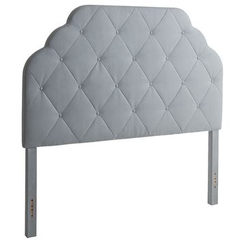 Hayworth Upholstered Headboards - Seafoam