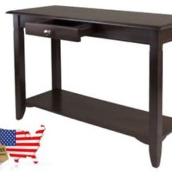 Console Table Entryway Furniture Sofa Hallway Storage Drawer Shelf Accent
