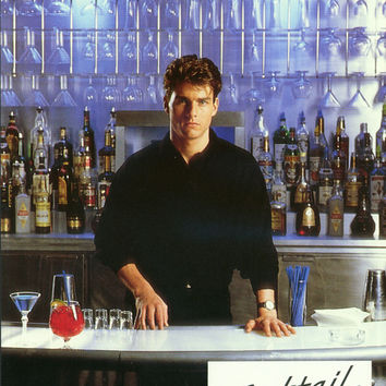 Cocktail (French) 11x14 Movie Poster (1988)