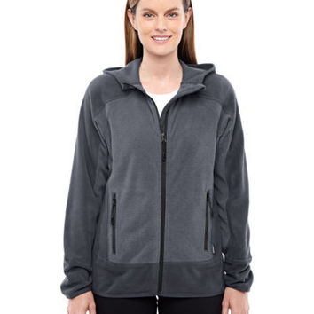 North End Sport Red Ladies' Vortex Polartec Active Fleece Jacket