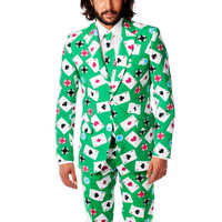 Vegas Bomb Playing Cards Dress Suit