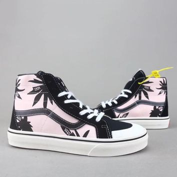 Trendsetter Vans Sk8 Hi Reissue   Women Men Fashion High-Top Old Skool Shoes