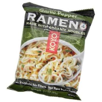 Koyo Garlic Pepper Ramen (12x2.1OZ )