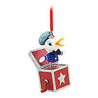 Donald Duck Sketchbook Ornament - Vintage Toy Series