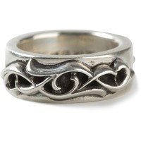 Chrome Hearts engraved ring