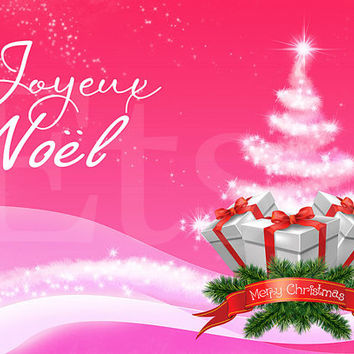 5x Foldable 5x7 DIY Christmas Card Birthday Invitation Party 25 December Elements for PHOTOSHOP